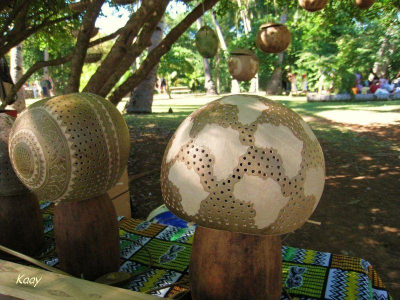 Lampes calebasse La Réunion 2