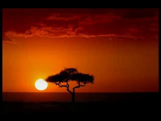 Coucher de soleil Afrique