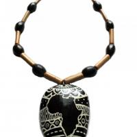 Collier symbole afrika roots