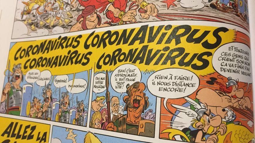 Coronavirus asterix et obelix transitalique