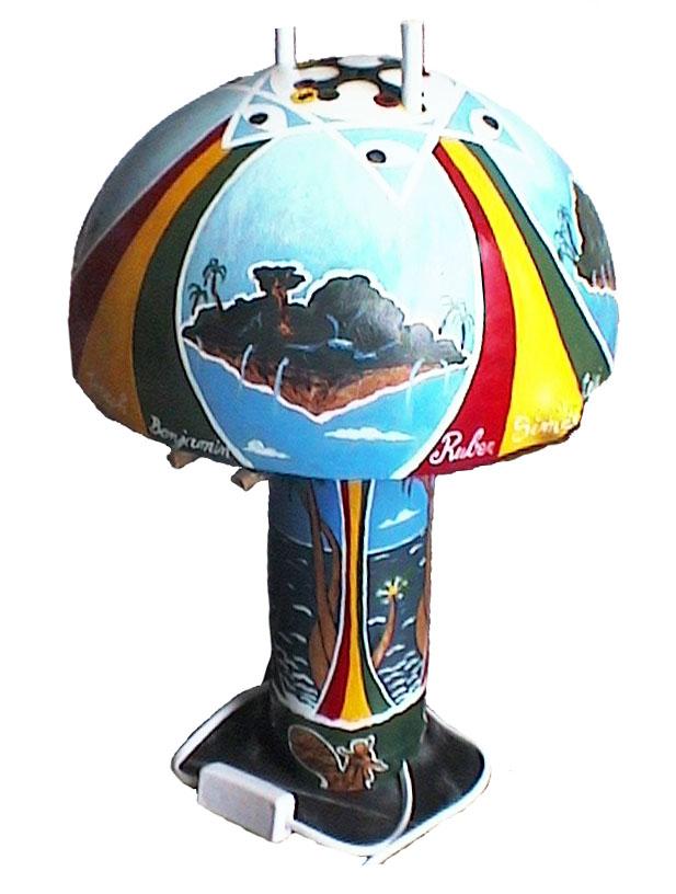 Lampe 12 tribus