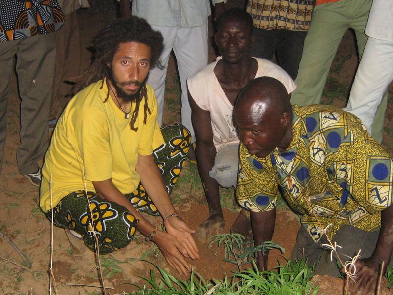 Nasara presentation area plantation de manguiers