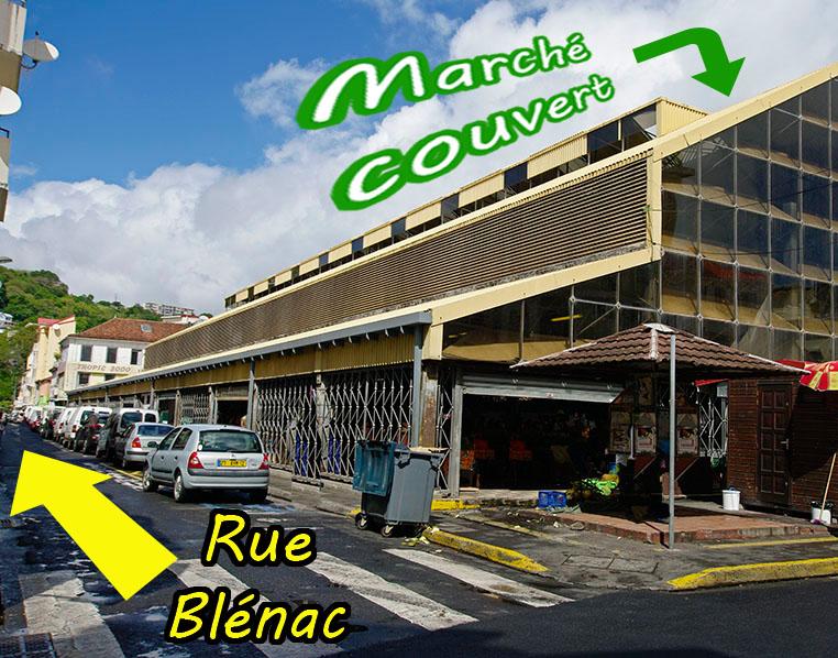 Rue blenac fortdefrance
