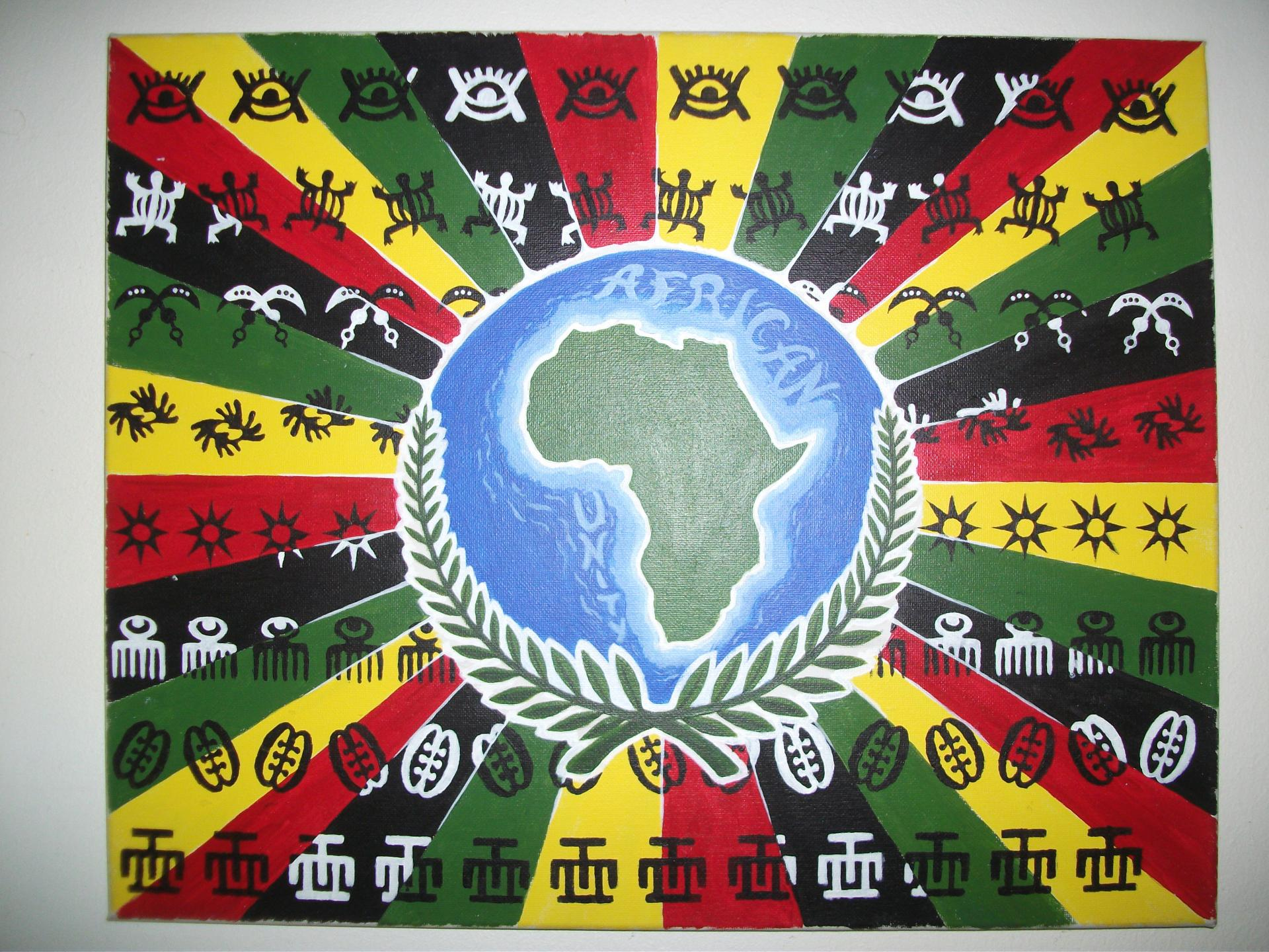 Toile african unity 1