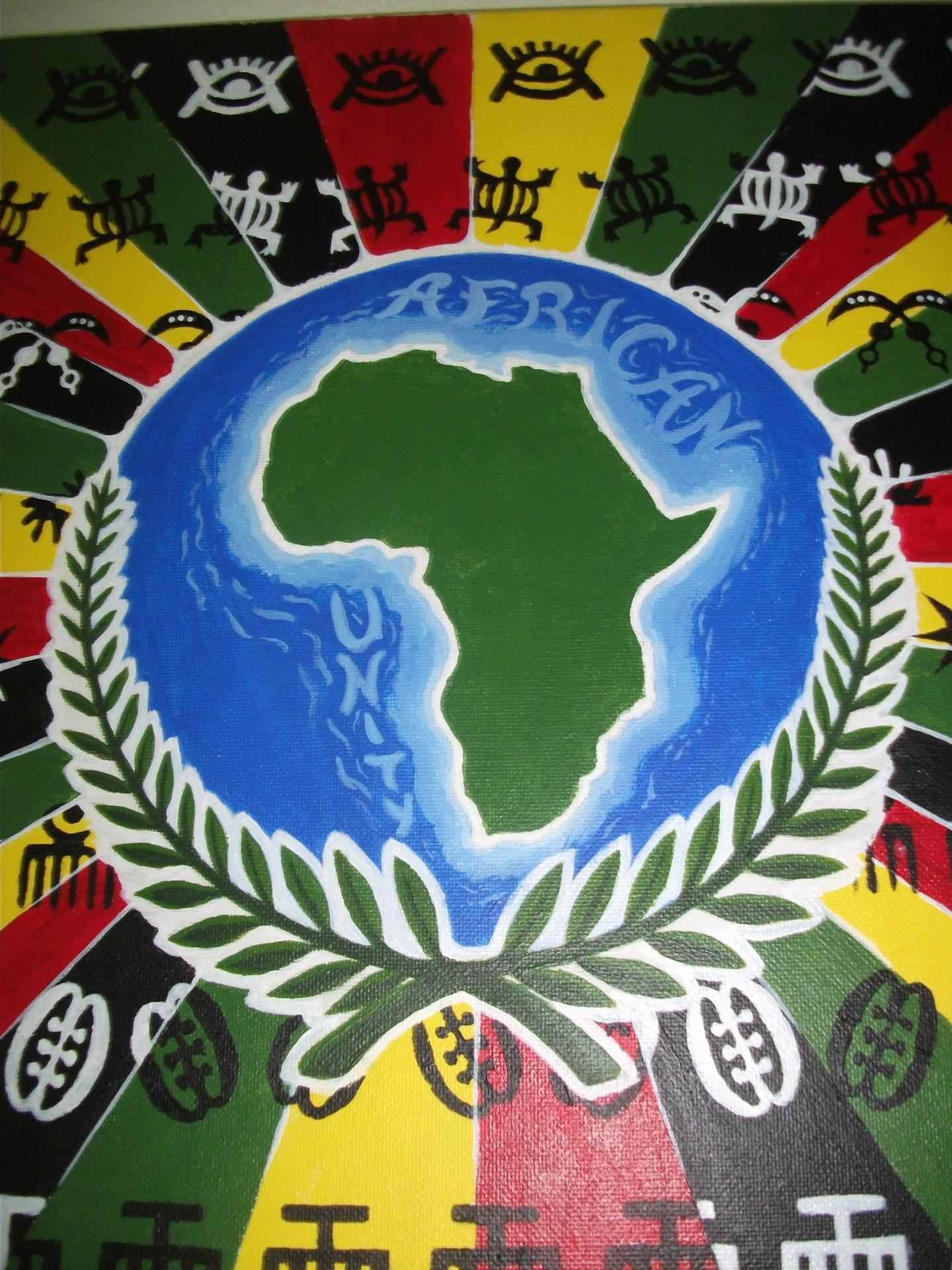 Toile african unity 2